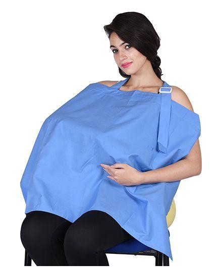 Lulamom Nursing Cover - Sky Blue