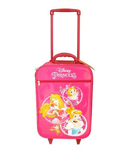 Disney Gamme Princess Soft Trolley Bag Pink - 17.5 Inch