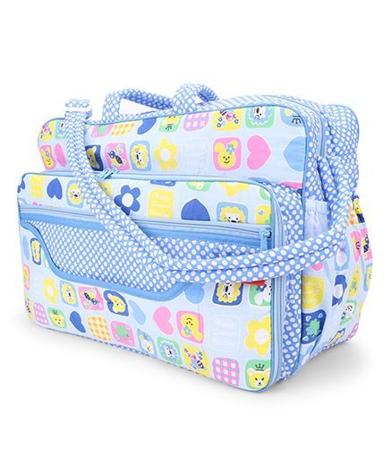 Sapphire Diaper Carrier - Blue (Print May Vary)