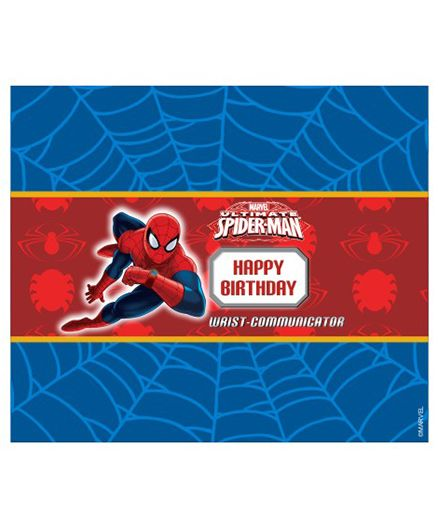 Marvel Spiderman Chocolate Wrappers Pack of 10 Red Blue Online in ...