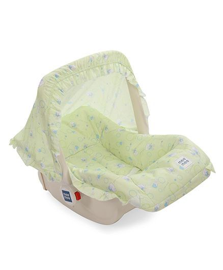 Lieblich Mee Mee 5 In 1 Baby Cozy Carry Cot Cum Rocker   Green