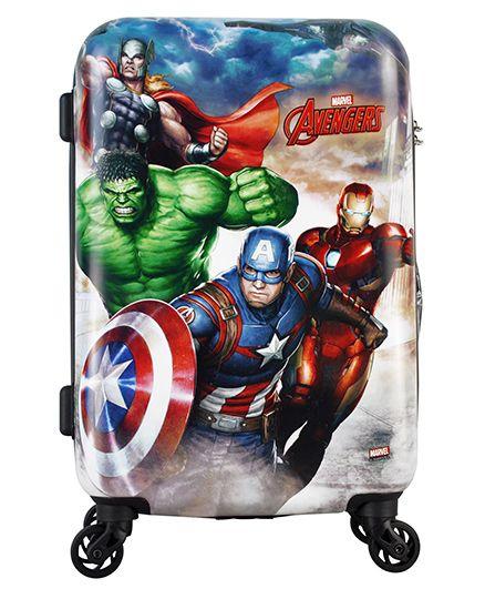 Marvel Batman Gamme Luggage Trolley Bag - 20 Inches
