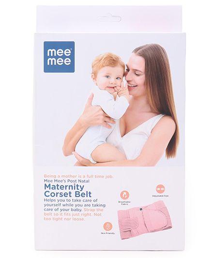 Mee Mee Corset Belt Large - Pink