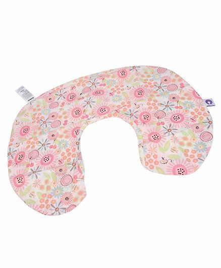 Chicco Cotton Slipcover For Boppy Feeding Pillow French Rose Print - Pink