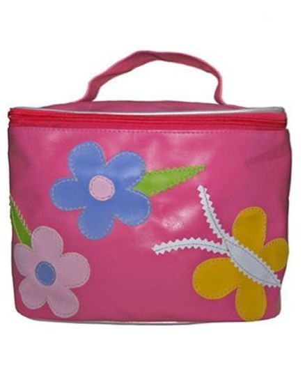 Kidzbash Travel Pouch Butterfly And Floral Design - Pink