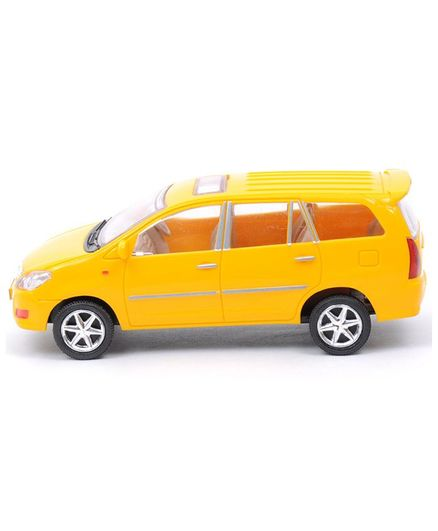 Centy Miniature Pull Back Innova Car Yellow For 3 6 Years Online