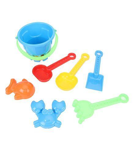 Sunny Beach Toy Set Blue - 7 Pieces