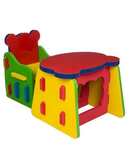 Cutez Desk \u0026 Chair - Multi Color  sc 1 st  Firstcry.com & Kids Furniture - Buy Kids Study Table Bunk Beds Chairs Online India