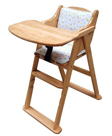 Abracadabra Foldable Wooden Baby Feeding Chair