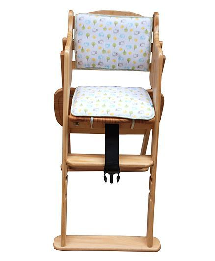 abracadabra foldable wooden baby feeding chair online in india buy
