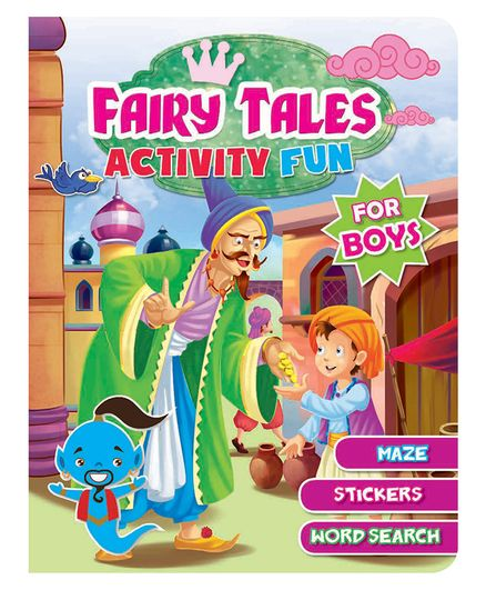 Fairy Tales Activity Fun  - English