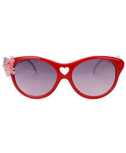 Miss Diva Cute Teddy Sunglasses - Red