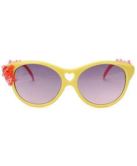 Miss Diva Cute Teddy Sunglasses - Yellow