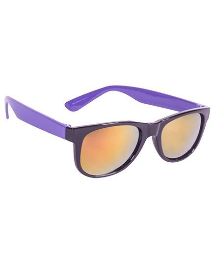 Glucksman Classic Wayfarer Kids Sunglass - Purple