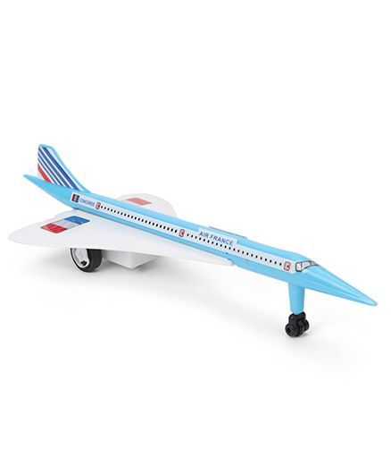 Speedage Air France Concorde Airplane PB Model (Color May Vary)