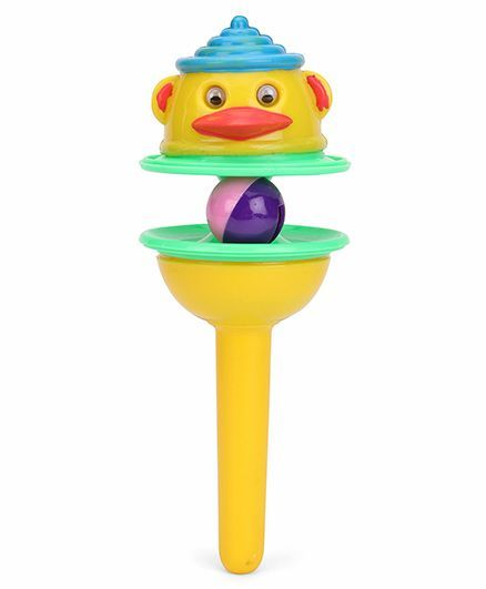 Ratnas Lolly Pop Rattle 20 cm (Color May Vary)