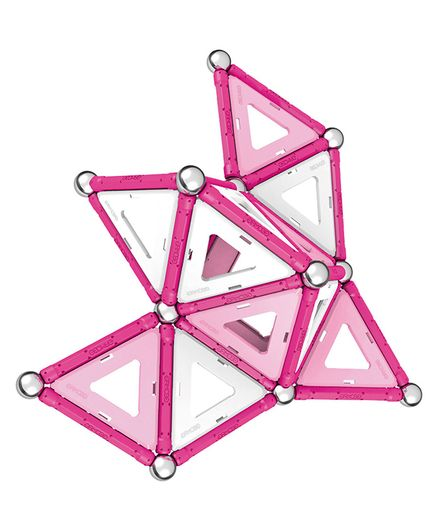 Geomag Panel Construction Set Pink - 68 Pieces