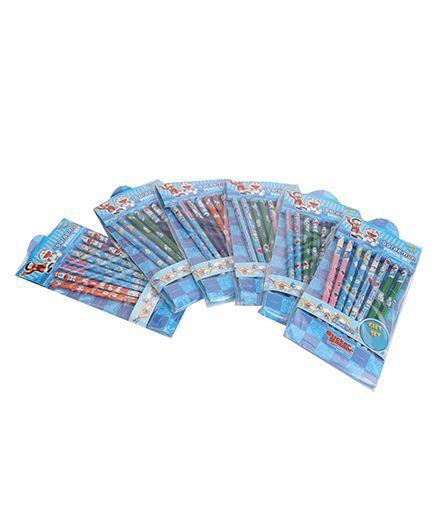 Doraemon Pencil Set Combo - Pack Of 6