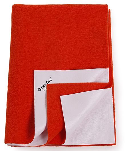 Quick Dry Bed Protector Medium - Coral