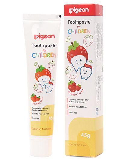 Pigeon Children Toothpaste Strawberry - 45 gm