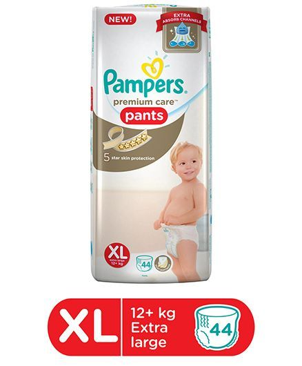 Pampers Premium Care Pant Style Diapers Extra Large - 44 Pieces