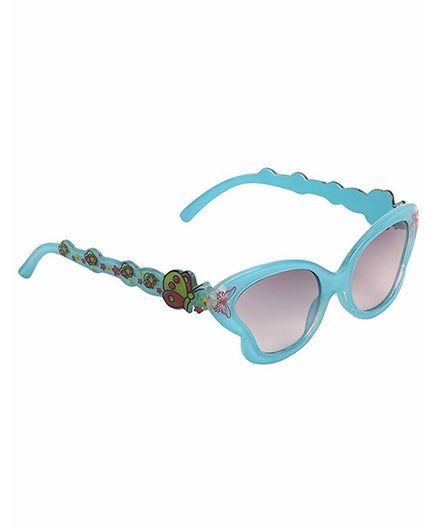 Miss Diva Smart Butterfly Sunglasses - Turquoise