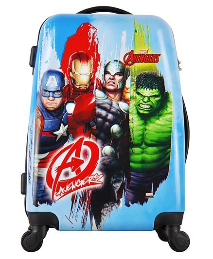 Marvel Avenger Kids Luggage Trolley Bag - 20 Inches