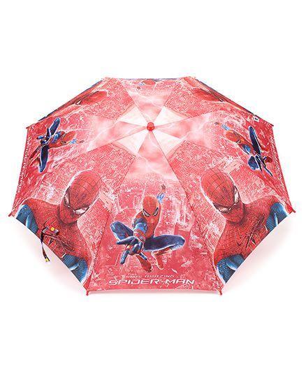 Spider Man Kids Umbrella - Red