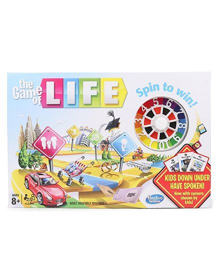 Hasbro The Game Of Life - Multicolor