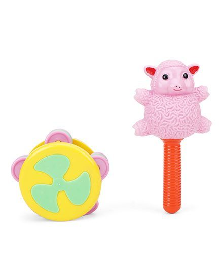 Ratnas Chime Rattle Pack Of  2 (Color May Vary)