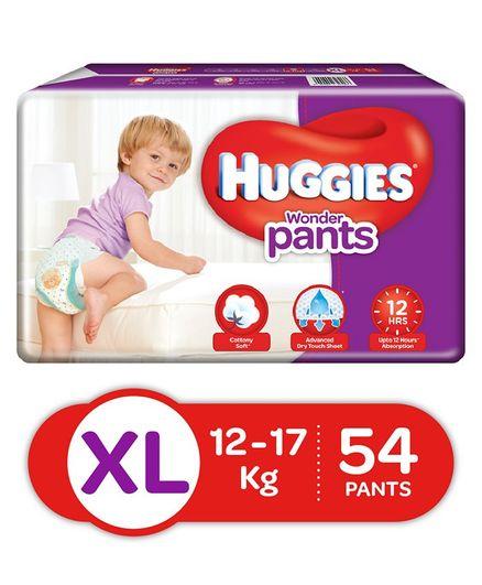 Huggies Wonder Pants XL Diapers (54 Pieces)