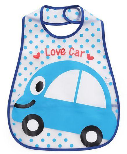 Babyhug Bib Car Print (Color May Vary)