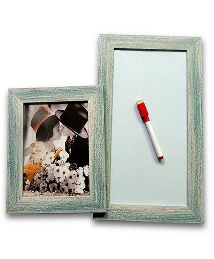 EZ Life Photo Holder & White Board Planner - Grey