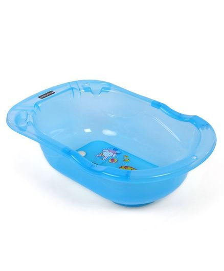 Babyhug Bath Tub - Blue (Print May Vary)