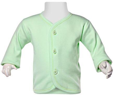 Child World Full Sleeves Vest - Light Green