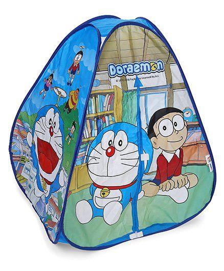 Doraemon Pop-Up Tent House - Dark Blue