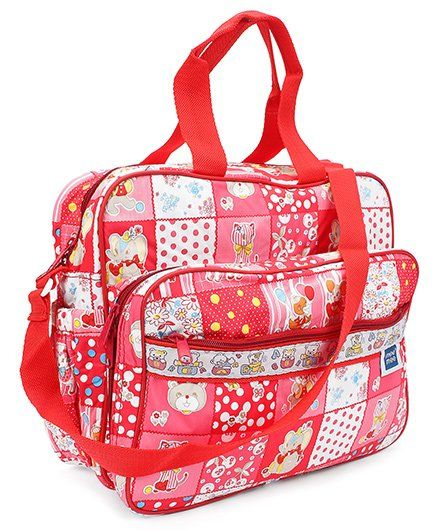 Mee Mee Mama's Bag Floral Print - Red