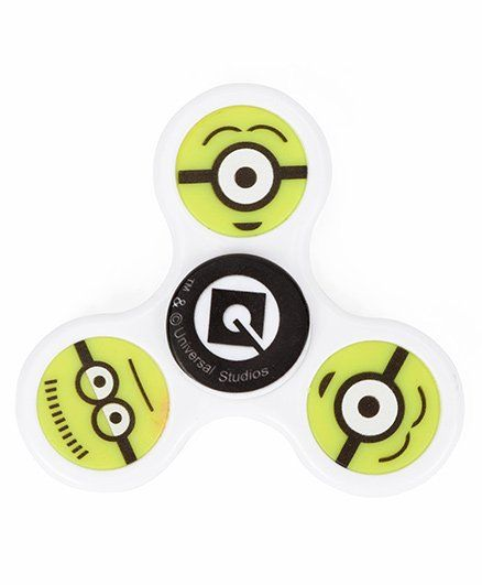 Minion Fidget Spinner Toy - Green