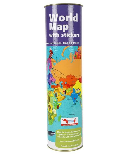 Cocomoco kids interactive world map kit online india buy cocomoco kids interactive world map kit gumiabroncs Image collections