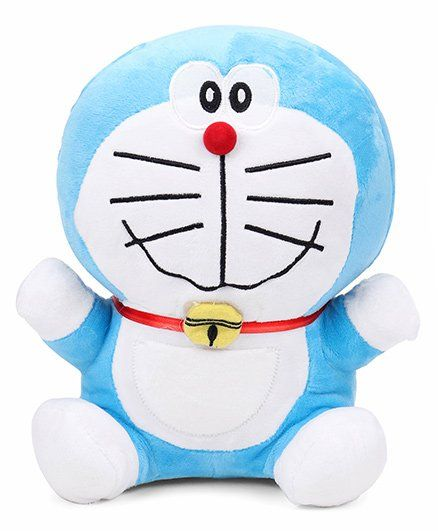 Doraemon Plush Soft Toy - 25 cm (Color & Style May Vary)