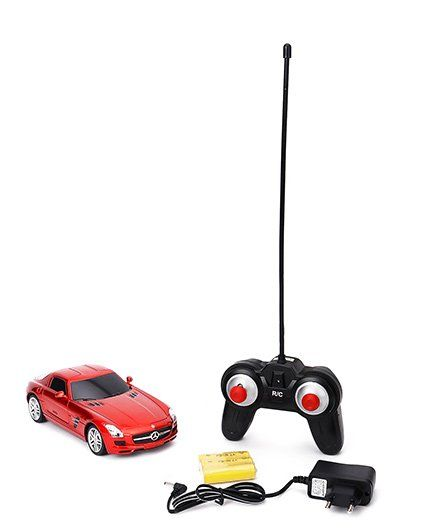 TurboS Remote Controlled Benz SLS Licensed Car - Red