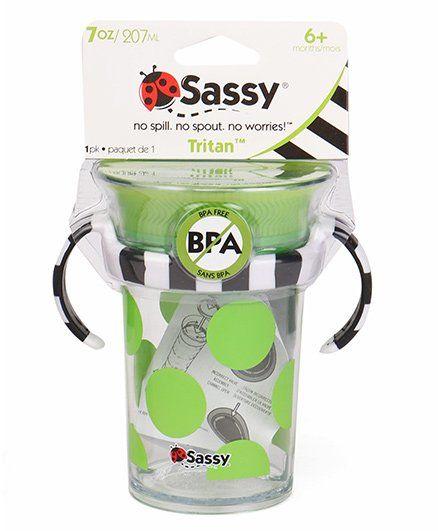 Sassy Tritan Cup Green - 207 ml
