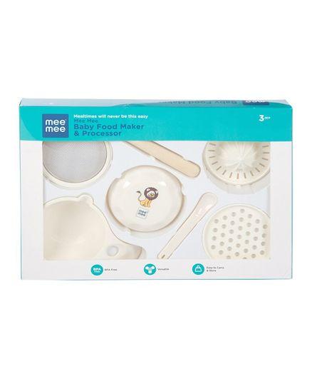 Mee Mee Baby Food Maker Processor - 7 Pieces