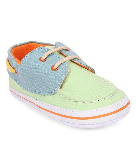 Morisons Baby Dreams Booties - Blue & Green