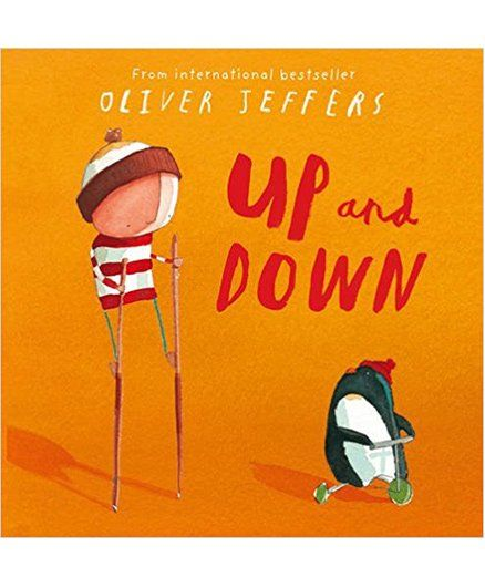 Up And Down Story Book by Oliver Jeffer - English