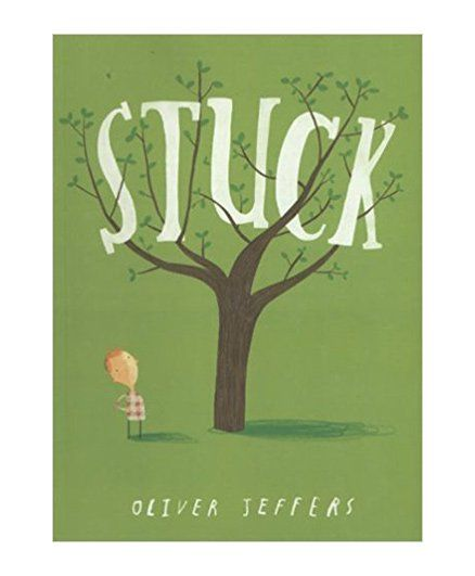 Stuck By Oliver Jeffers - English
