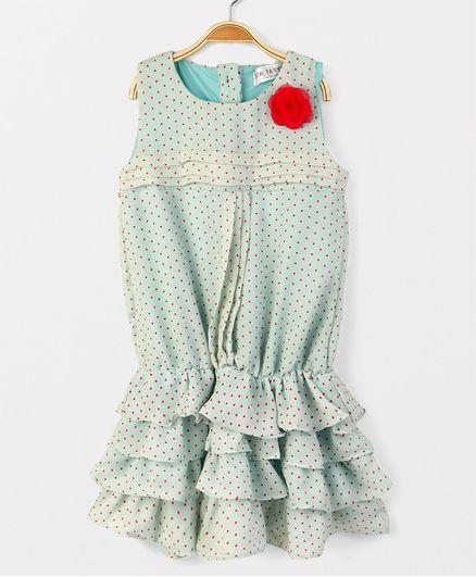 Soul Fairy Rara Dress With Pintuck - Mint Green