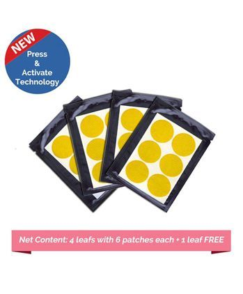 Safe-O-Kid Anti-Mosquito Patches Yellow - 24 Patches