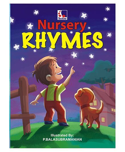 Nursery Rhymes Book English