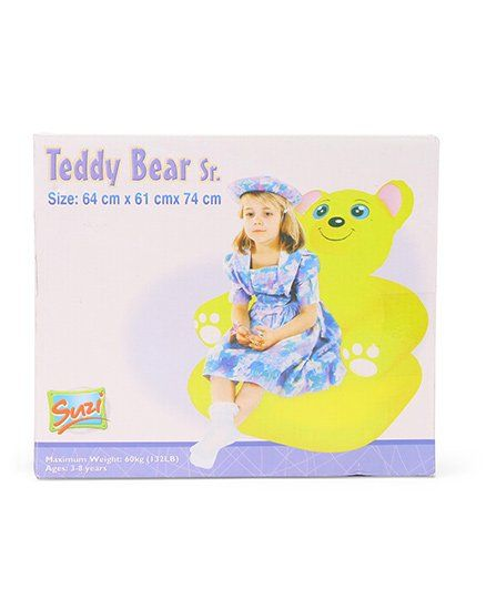 Suzi Teddy Bear Senior - Yellow